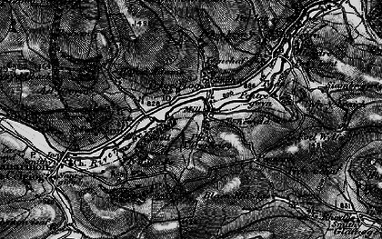 Old map of Ael-y-coryn in 1897