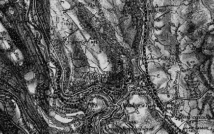 Old map of Treharris in 1897