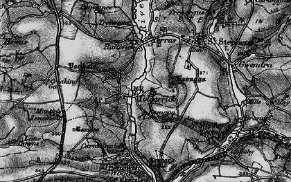 Old map of Tolgarrick in 1895