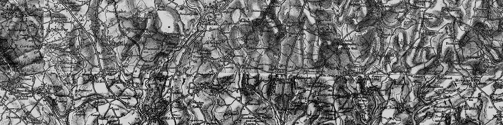 Old map of Tolvan in 1895