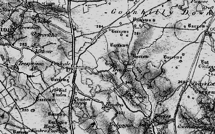 Old map of Leech Pool in 1895