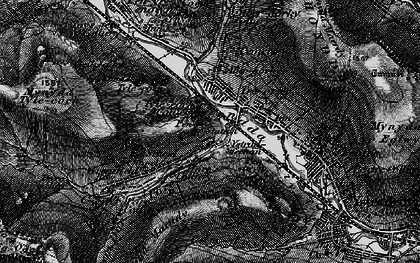 Old map of Treorchy in 1898
