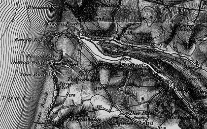 Old map of Tolcarne Merock in 1895