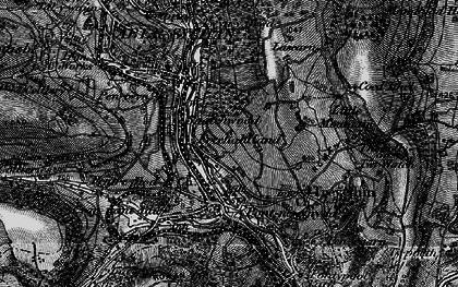 Old map of Lasgarn in 1897
