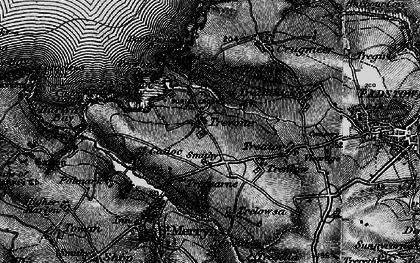 Old map of Trevone in 1895