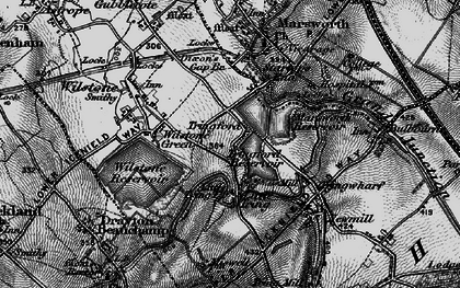 Old map of Tringford in 1896