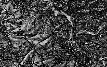 Old map of Wills Neck in 1898