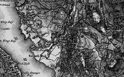 Old map of White Cross Bay in 1897