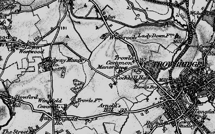 Old map of Wingfield Ho in 1898