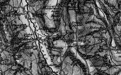 Old map of Yarty Ho in 1898