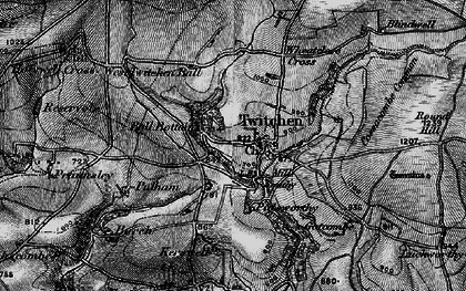 Old map of Badgercombe in 1898