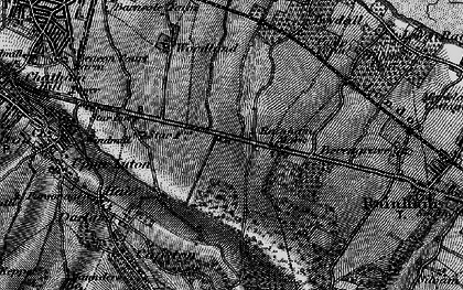 Old map of Ambley Wood in 1895