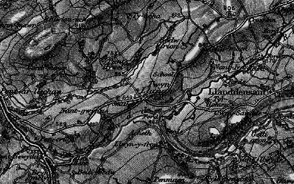 Old map of Tir-Howel in 1898