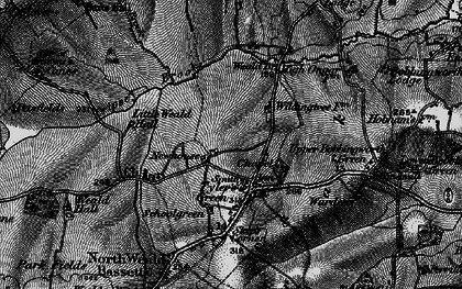Old map of Ashlyns in 1896