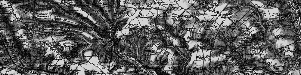 Old map of White End Park in 1896