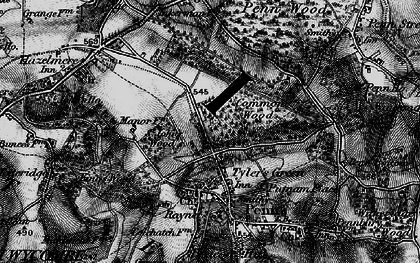 Old map of Tylers Green in 1895