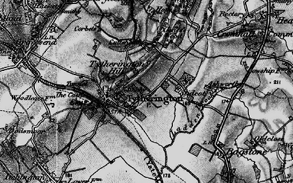 Old map of Baden Hill in 1897