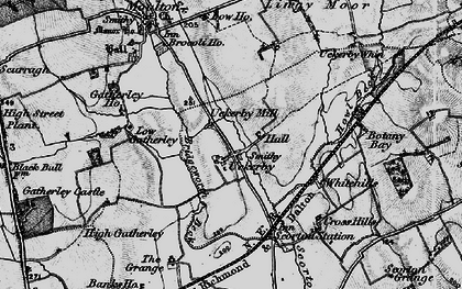 Old map of Lingy Moor in 1897