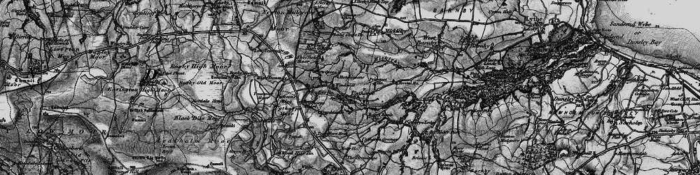Old map of Wilks Rigg in 1898