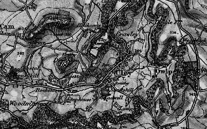 Old map of Uley in 1897