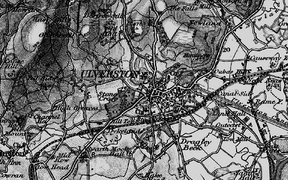 Old map of Levy Beck in 1897