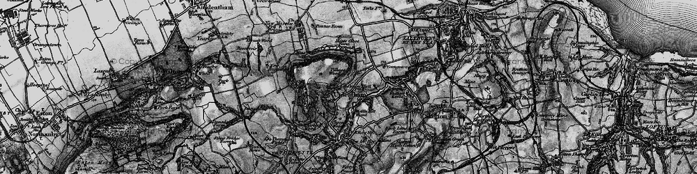 Old map of Tocketts Mill in 1898