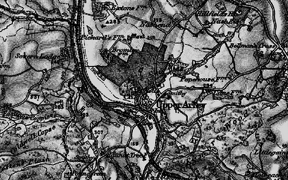 Old map of Upper Arley in 1899