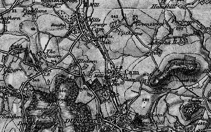 Old map of Upper Cam in 1897