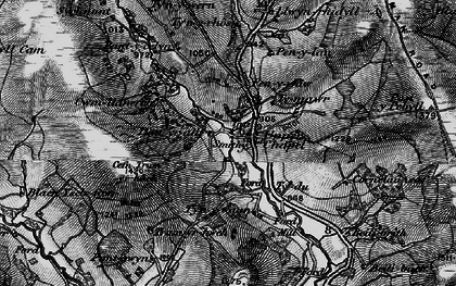 Old map of Baily Brith in 1898