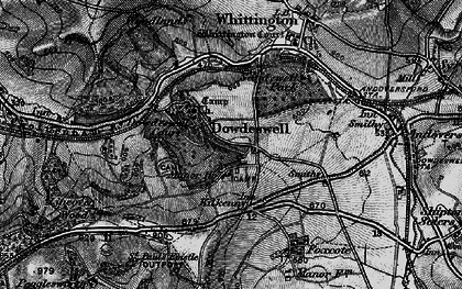 Old map of Upper Dowdeswell in 1896