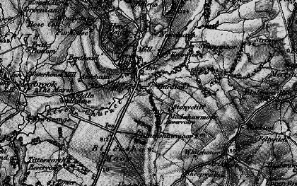Old map of Windygates in 1897