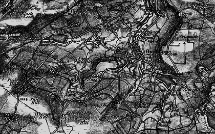 Old map of Yeoman Hill in 1898