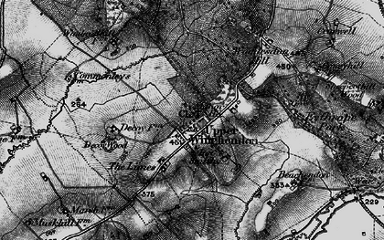Old map of Upper Winchendon in 1896