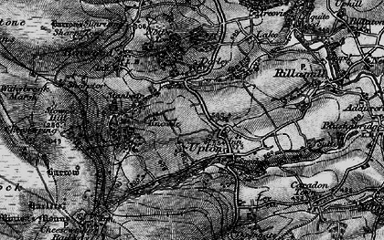 Old map of Upton in 1895
