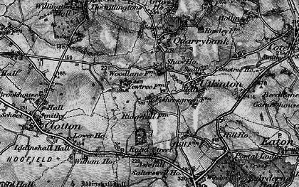 Old map of Ash Hill Ho in 1897