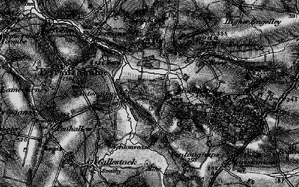 Old map of Ventongimps in 1895