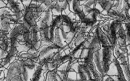 Old map of Viscar in 1895