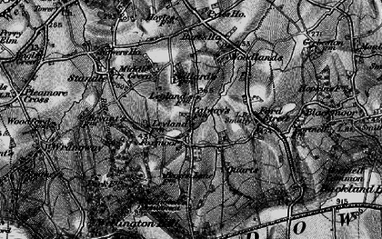 Old map of Legglands in 1898