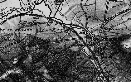 Old map of Wychwood Forest in 1896