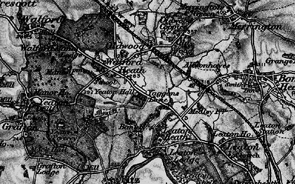 Old map of Yeaton Lodge in 1899