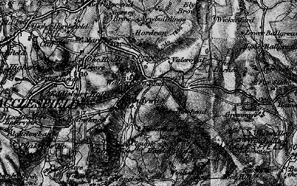Old map of Windyway Ho in 1896
