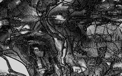 Old map of Wall in 1897