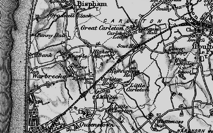 Old map of Layton Sta in 1896