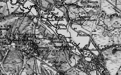 Old map of Woodlands in 1897