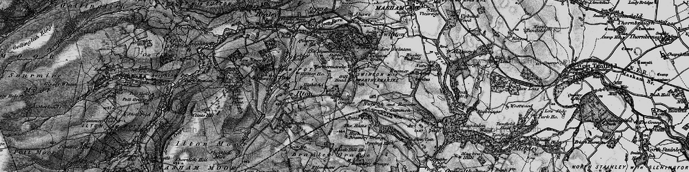 Old map of Swinton Park in 1897