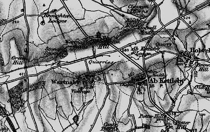 Old map of Ashleigh in 1899