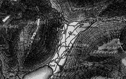 Old map of Yewbarrow in 1897