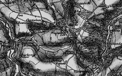 Old map of Washaway in 1895