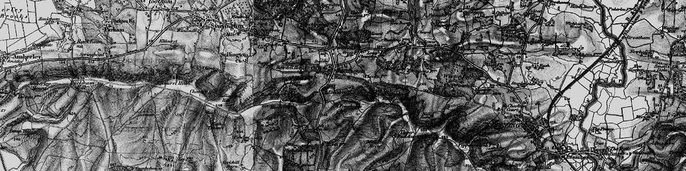 Old map of Windlesham (Sch) in 1895