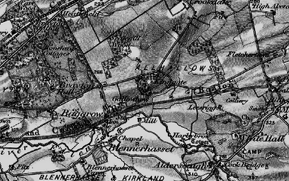 Old map of Aldersceugh in 1897